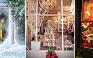 Зимние украшения на окна. Украшение окон к Новому году из бумаги: трафареты и вдохновляющие идеи для встречи