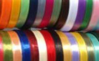Покраска лент для вышивания. Как покрасить атласные ленты акварелью. Зачем нужны шелковые ленты ручной работы
