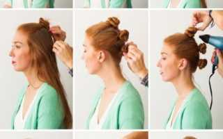 Укладка волны на длинные волосы без утюжка. Как самостоятельно сделать шикарные легкие волны на волосы средней длины