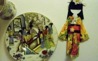Кусудама — японские поделки из бумаги. Дораданго: необычная японская поделка Поделка на тему япония своими руками