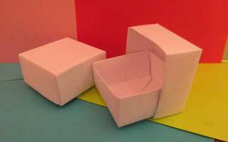 Лёгкое оригами для начинающих. Оригами из бумаги — простые схемы для начинающих. Как сделать коробочку с крышкой
