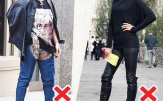 Женские ботфорты: с чем и как их лучше носить. Ботфорты без каблука – удачное приобретение в любое время