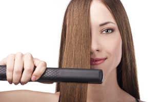 Как выпрямить волосы утюжком, феном и без них в домашних условиях. Выпрямление волос в домашних условиях