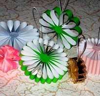 Фонарик из цветной бумаги. Создание бумажных новогодних украшений своими руками: фото, картинки, примеры