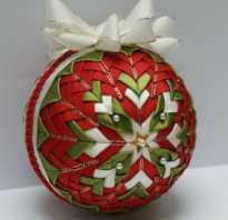 Декорируем новогодние шары в стиле артишок. Шар из ткани в технике артишок. Мастер-класс. Делаем симпатичные «чешуйки»