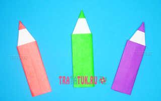 Как сделать из бумаги и карандаша. Поделка карандаш из бумаги. Что понадобится для создания закладки карандаша оригами
