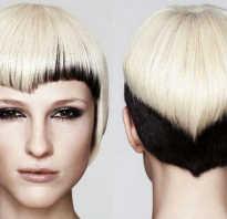 Окрашивание половины волос. Двойное окрашивание волос – для создания стильного и естественного образа