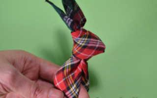 Как сделать зайца на пасху своими руками. Зайчик из платка. Что нужно подготовить для создания зайки