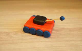 Как делать танки установки из пластилина. Танк из пластилина поэтапно. Видео урок — танк из пластилина