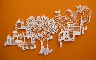 Киригами шаблоны новогодние. Таинственное киригами — советы для начинающих. Что из себя представляют новогодние киригами