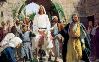 Вербное воскресенье: история и традиции праздника. Вербное воскресение — традиции, обряды и обычаи праздника