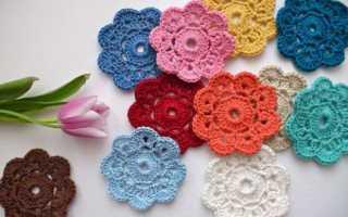 Вязание цветов самое простое. Вязание цветов крючком для начинающих с описанием и схемами. Для каких целей вяжут цветы