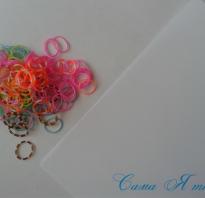 Шар из резинок декоративный «Цветущая сакура. Новогодний шарик из резинок Как сделать шарик из резиночек