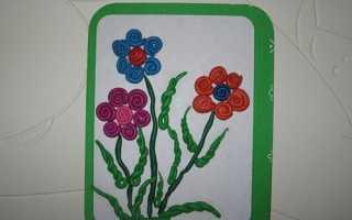 Поздравительная открытка своими руками творчество с детьми. Открытки своими руками на день рождения