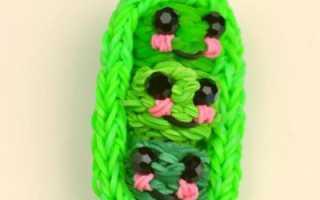 Как плести из резинок цветок или змею. Как сплести змею? Варианты плетения из резинок. Осваиваем работу на рогатке