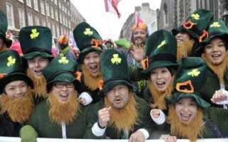 День Святого Патрика: история, традиции и празднование. Как празднуют день святого патрика в разных странах