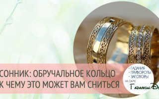 Родственник подарил обручальное кольцо во сне. К чему снится, что подарили кольцо: значение сновидения, что предвещает