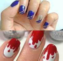 Как красиво накрасить короткие ногти. Как можно красиво накрасить ногти двумя цветами (с фото и видео)