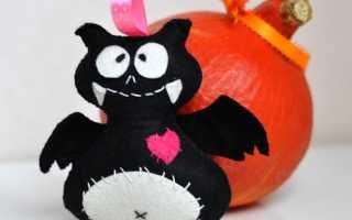 Фигурки из фетра на хэллоуин. Какие игрушки сделать на хэллоуин. Шьем игрушку из фетра своими руками