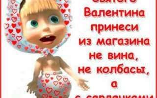 Прикольные поздравления с днем святого Валентина. Веселые и смешные поздравления с днем святого валентина