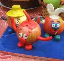 Красивые детские поделки из овощей и фруктов своими руками. Поделки из овощей и фруктов своими руками