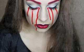 Как разрисовать лицо ведьмы. Как сделать белое лицо на Хэллоуин? Правила выбора и способы использования красок