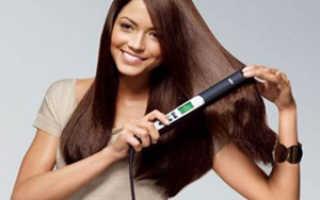 Варианты укладки утюжком для волос средней длины. Накручиваем волосы на утюжок для выпрямления. Секреты парикмахеров