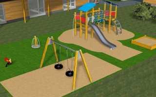 Проекты детских площадок схемы. Создаем рай для ребенка на даче — обустраиваем детскую площадку своими руками