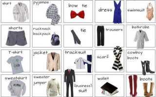 Стили одежды на английском языке с переводом. Описание одежды на английском языке – как рассказать о своём стиле