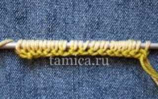 Вязка двойной. Вязание двойной полой резинки спицами. Двойная полая резинка: как вязать ее по кругу