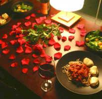 Как приготовить романтик для мужчины. Романтический вечер для двоих дома: идеи тематических посиделок