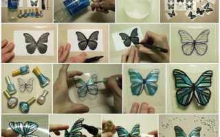 Бабочки своими руками из бумаги красивые. Как сделать бабочки из бумаги и схемы. Делаем бабочек из бумаги