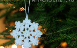 Вязание снежинок крючком. Снежинка крючком, мастер-класс для начинающих. Идеи применения вязаных снежинок