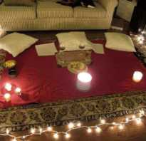 Как устроить любимому незабываемый романтический вечер: лучшие идеи. Романтический вечер для двоих дома