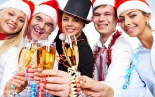 Сценарии на новый год дому. Сценарий празднования нового года для взрослых (с шутками, играми и тостами)