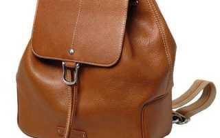 Выкройка рюкзака из кожи своими руками. Как сшить кожаный рюкзак или сумку своими руками — описание и выкройки