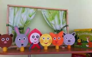 Выкройка мягкой игрушки Колобок. Мастер-класс: настольный театр «Колобок Как сделать кукольный театр колобок своими руками