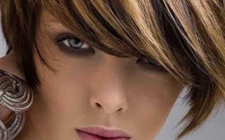 Цветное колорирование бордовым на темных волосах. Колорирование на короткие волосы: варианты креативного окрашивания