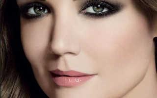 Дневной макияж для серо голубых глаз пошагово. Изящный макияж для блондинок. Макияж серых глаз для темноволосых