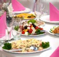 Бюджетное меню для свадьбы: идеи для праздничного стола. Свадьба дома: примерное меню для праздничного стола