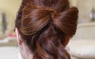 Как сделать бантик с распущенными волосами. Какие есть варианты прически? Искусственные и живые цветы