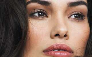 Как сделать красивый макияж для брюнеток. Миссия выполнима: стильный макияж для голубых глаз брюнетки