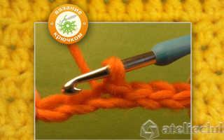 Как вяжется вогнутый столбик накидом. Условные обозначения основных приемов вязания. Полустолбик без накида