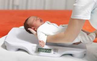 Как определить дефицит массы тела у ребенка при грудном вскармливании. Что делать, если грудничок плохо набирает вес