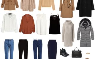 Образы из базового гардероба. Базовый гардероб на каждый день: набор вещей, который должен быть у каждой женщины
