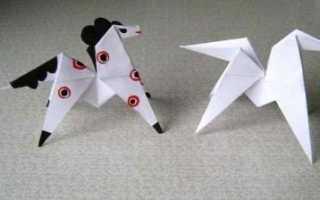 Лёгкое оригами для начинающих. Голова лошади из бумаги. Лёгкое оригами для начинающих Как сделать голову из бумаги оригами