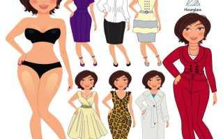Одежда на разные типы фигур. Правильный выбор одежды по типу фигуры. Тип фигуры треугольник – подбираем одежду правильно