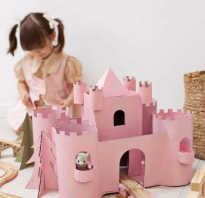Макет крепости из бумаги своими руками схемы. Как самостоятельно сделать замок из бумаги или картона
