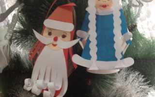 Дед мороз из бумаги (54 поделки для детей). Дед Мороз своими руками из бумаги: пошаговые мастер-классы с фото