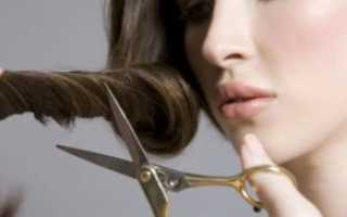 Как самой себе аккуратно и правильно подстричь кончики волос в домашних условиях. Как правильно стричь волосы